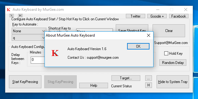 Auto Keyboard Version 1.6