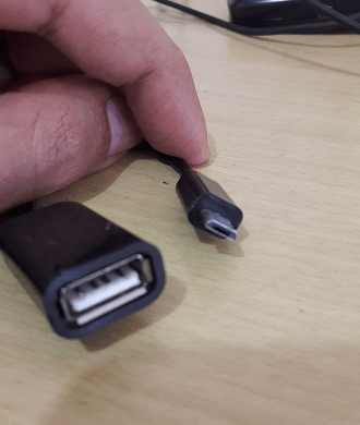 Micro USB to Standard USB Cable