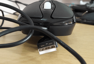 Mouse with USB 2.0 Port