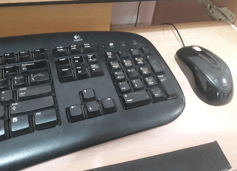 Using Mouse and Keyboard Together
