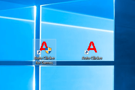 Auto Clicker Desktop Shortcuts on Windows 10